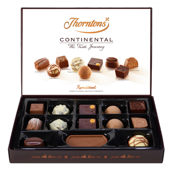 Thorntons Continental Mix 142g